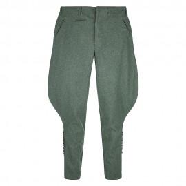 Důstojnické kalhoty - rajtky - vlna