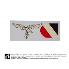 Obtisky na přilby - dekály pro Luftwaffe 1. vzor