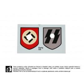 Obtisky na přilby - dekály pro Luftwaffe 2. vzor