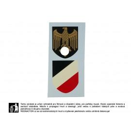 Obtisky na přilby - dekály pro válečné námořnictvo Kriegsmarine