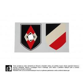 Obtisky na přilby - dekály pro Hitlerjugend