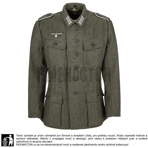 WH Feldbluse 1943 - kompletně ošité pro mužstvo a poddůstojníky