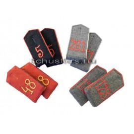 Nárameníky pro mužstvo na uniformu Pruské armády - zakázková výroba