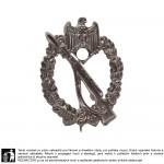 Útočný odznak pěchoty stříbrný - Infanterie Sturmabzeichen - dutá ražba