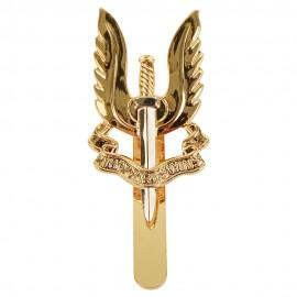Britský odznak na baret SAS - Bimetal