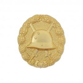 Německý prvoválečný odznak za zranění - zlatý