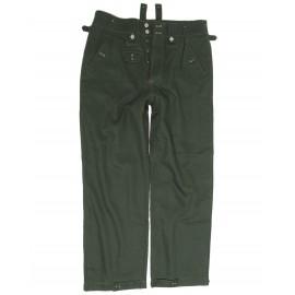 Pracovní kalhoty drillich M42 zeleň