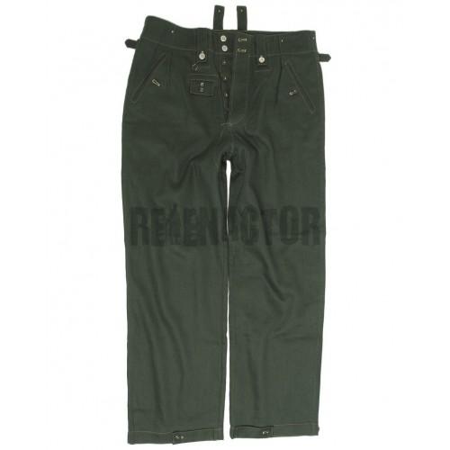 Pracovní kalhoty drillich M40 zeleň WH