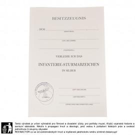 Dekret k vyznamenání - Winterschlacht im Osten 1941-1942