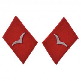 WL límcové výložky pro dělostřelectvo a flakartillerii v hodnostech Kanonier a Unteroffizier