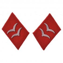 WL límcové výložky pro dělostřelectvo a flakartillerii v hodnostech Gefreiter a Unterfeldwebel