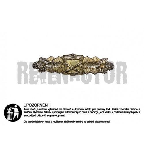 Nahkampfspange - spona za boj z blízka - zlatá
