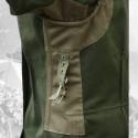 Feldbluse M43 drillich zeleň SS