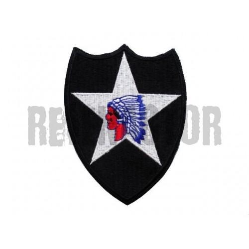 US nášivka 2nd Infantry Division