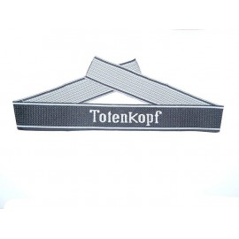 Rukávová páska 3. SS Pz. Div Totenkopf