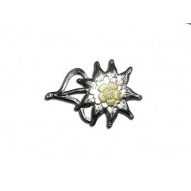 WH Edelweiss odznak na polní čapku kovový WW2