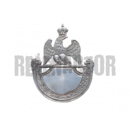 Francouzský odznak na čepici 1812