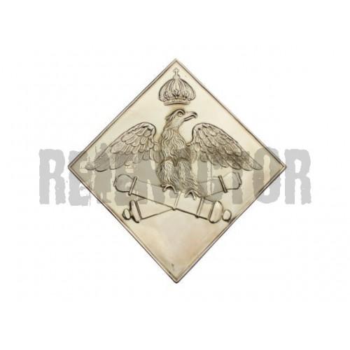 Francouzský odznak na čepici 1806 Diamond - dělostřelectvo