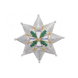 Vojenský řád William - hvězda na prsa