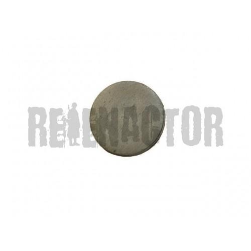 Knoflík kovový plochý - Ø 15 n. 24 mm