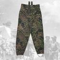Kalhoty drillich M44 hrách - feldhose