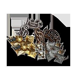 Kovové hodnostní označení WH