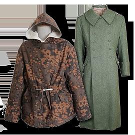 Kabáty a zimní bundy - Německo 1933-45
