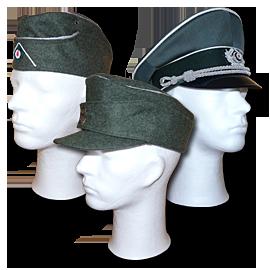 Čepice, lodičky a brigadýrky - Německo 1933-45