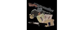 Zbraně, sumky, bodáky, nože