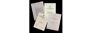 Dekrety k německým vyznamenáním 1936-45